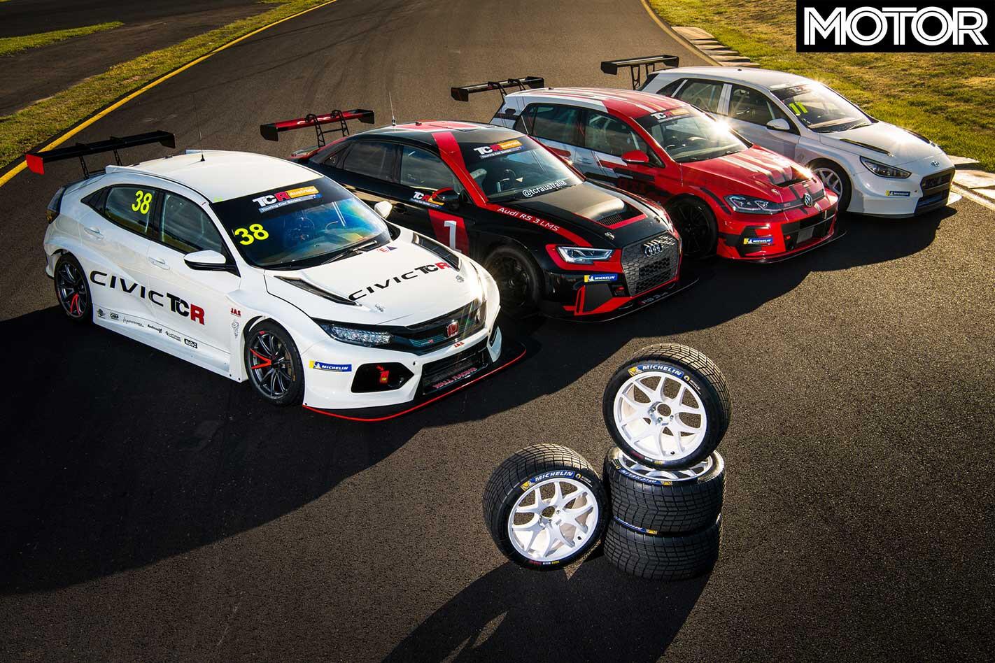2019 TCR Australia Racer Line Up Tyres Jpg