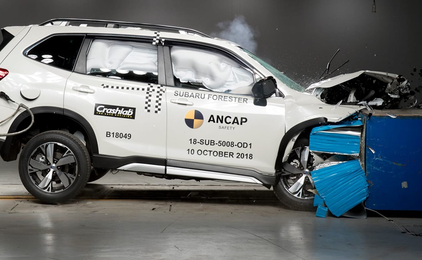 Forester ANCAP testing