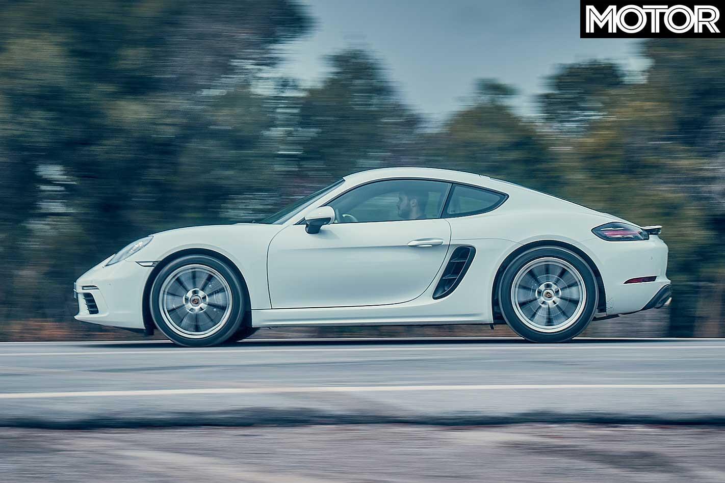 2018 Porsche 718 Cayman Side Profile Dynamic Jpg