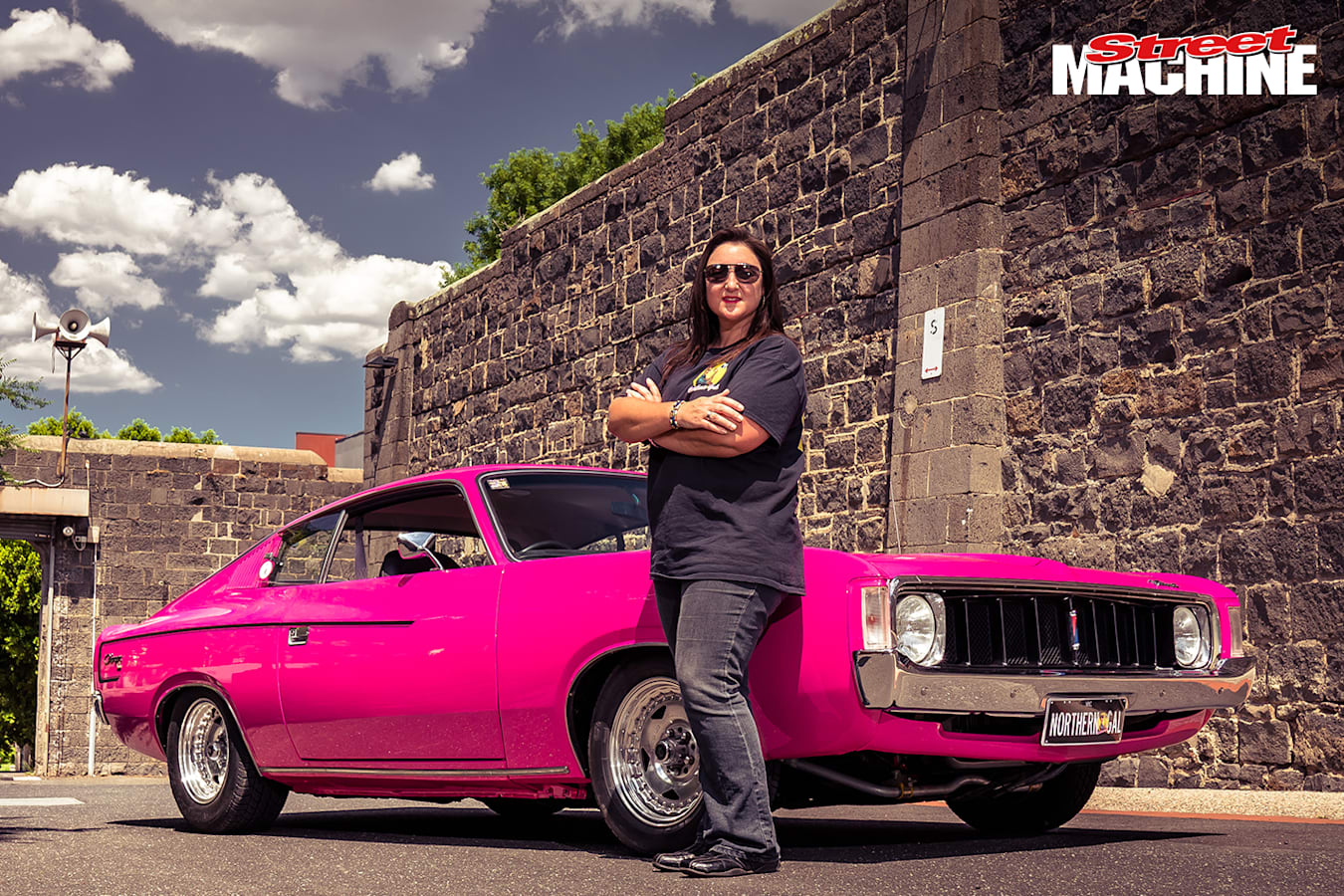 Chrysler Valiant Charger XL Pink 2 Nw Jpg