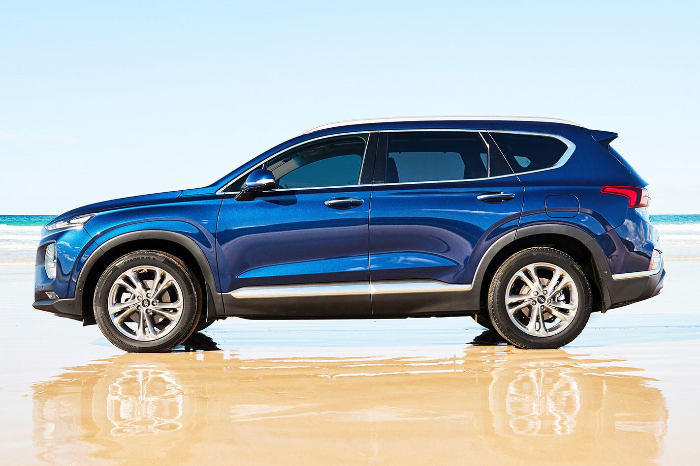 Hyundai Santa Fe Side Jpg