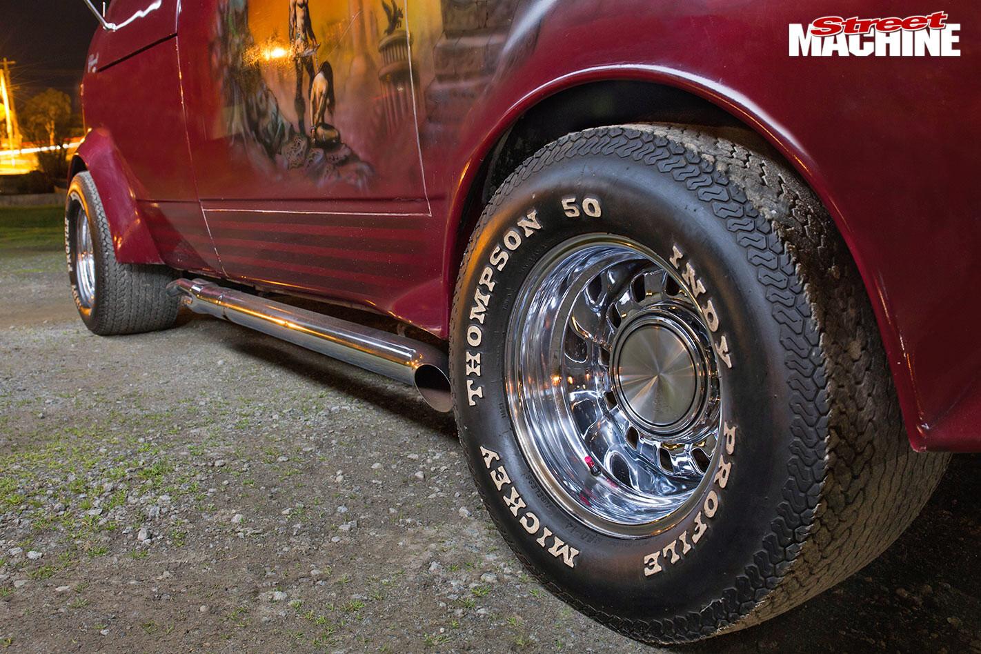 Beford Van wheels