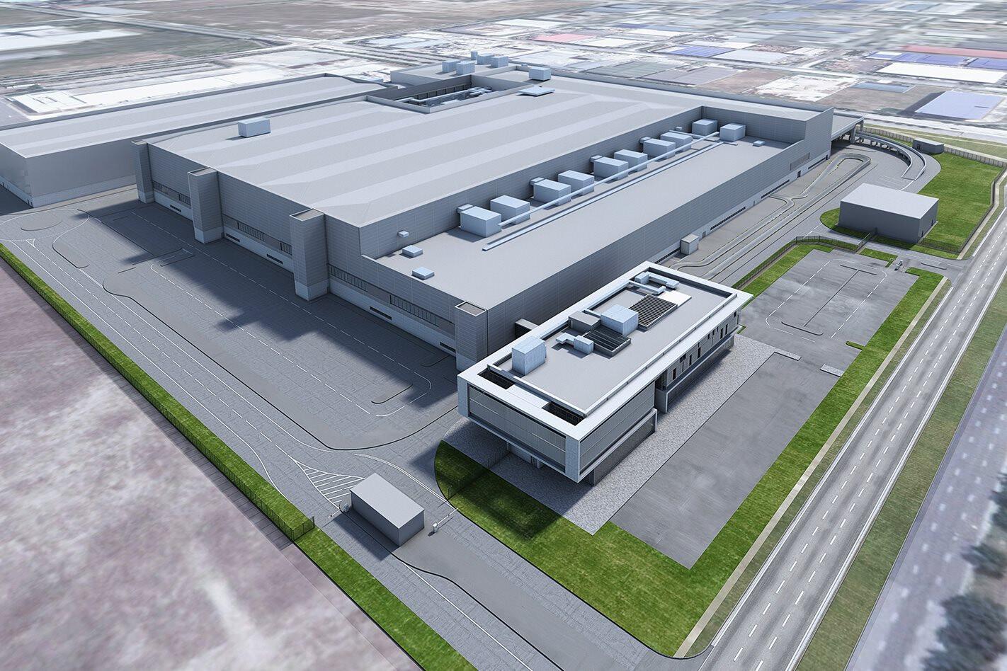 Dyson factory