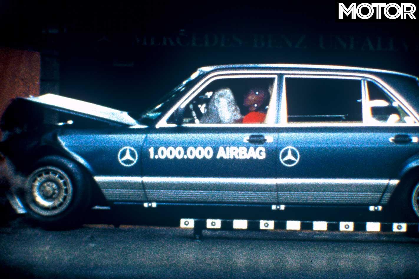 Australian Road Safety Statistics Mercedes Benz Crash Testing Jpg