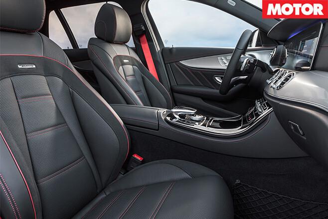 2016 Mercedes-AMG E43 interior side