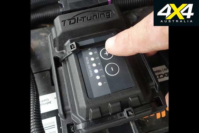 TDI Tuning ECU chip settings