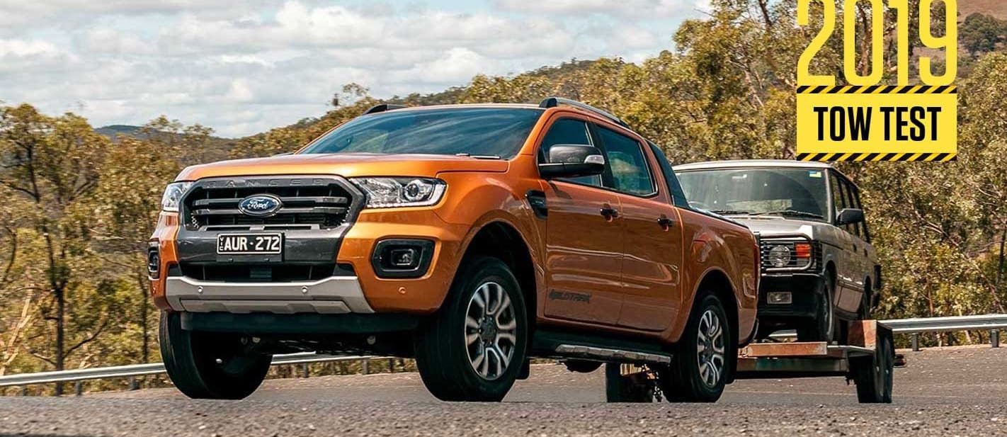 2019 Ford Ranger 2.0 load and tow test review