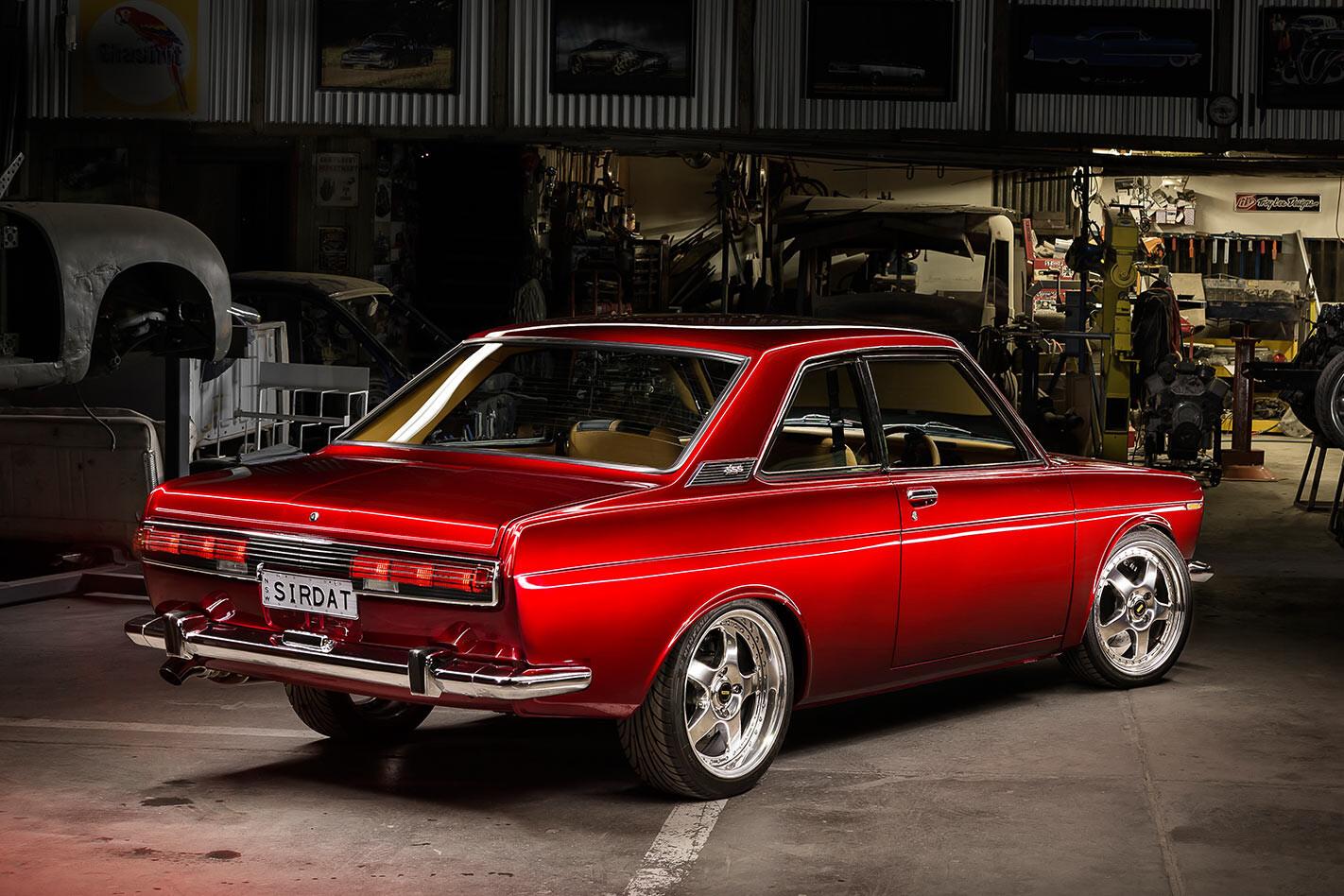 Datsun 1600 rear