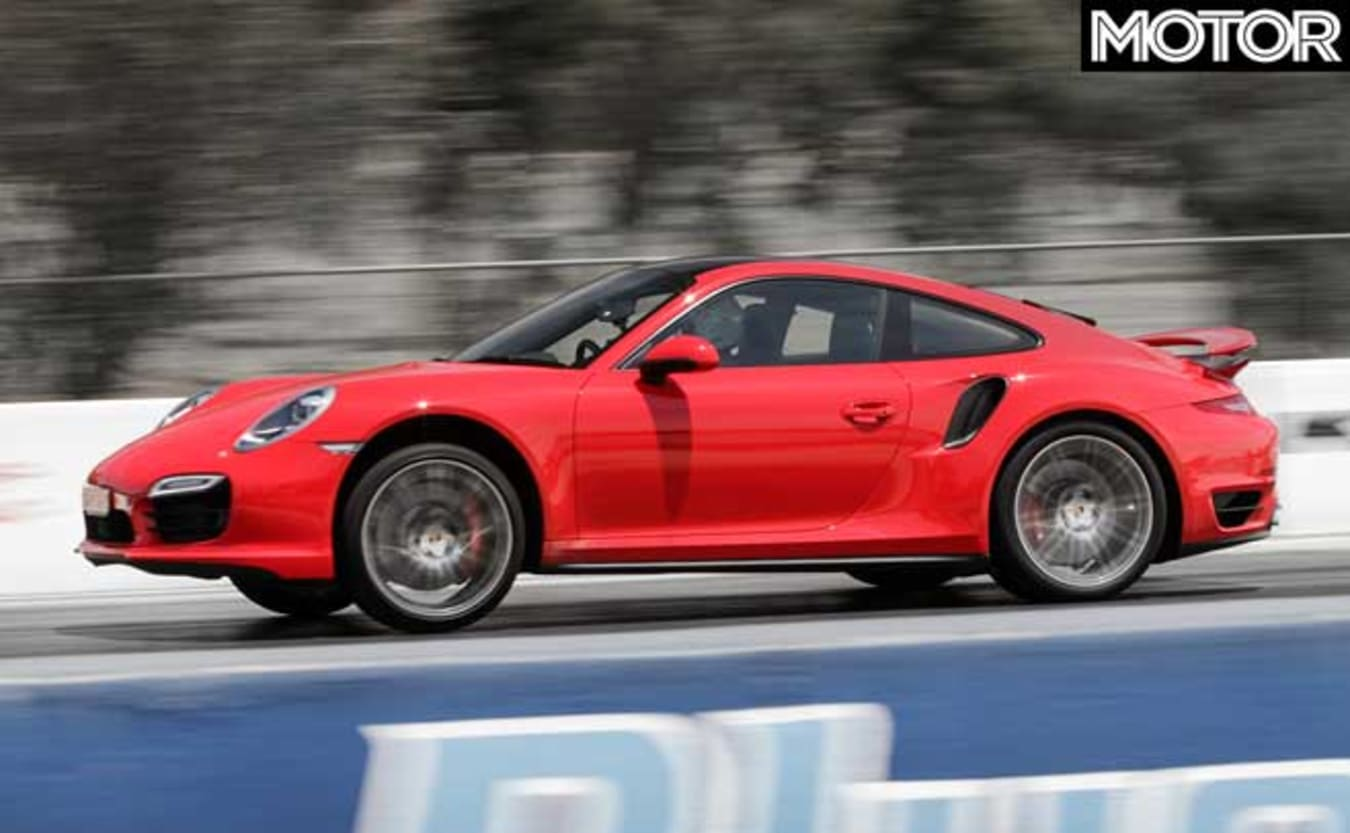 Top fastest cars tested MOTOR Magazine 2014 Porsche 911 Turbo