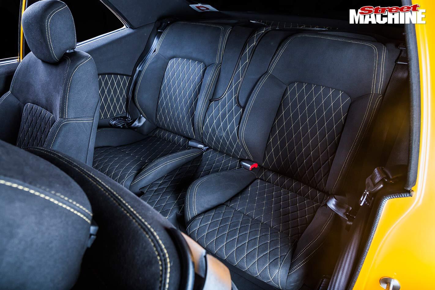 Chevrolet Nova interior rear