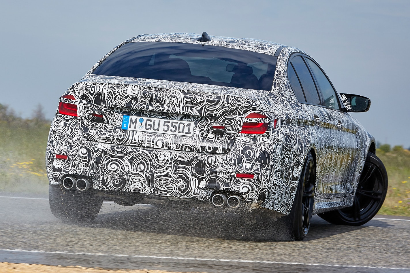 2018 BMW M5 prototype first drive