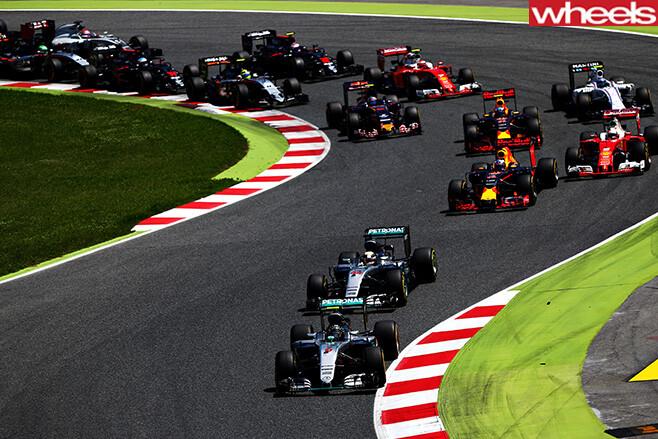 Spanish -F1-Grand -Prix -race