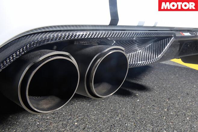 City performance bmw m4 exhaust