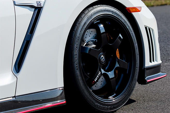 Nissan gtr nismo wheel