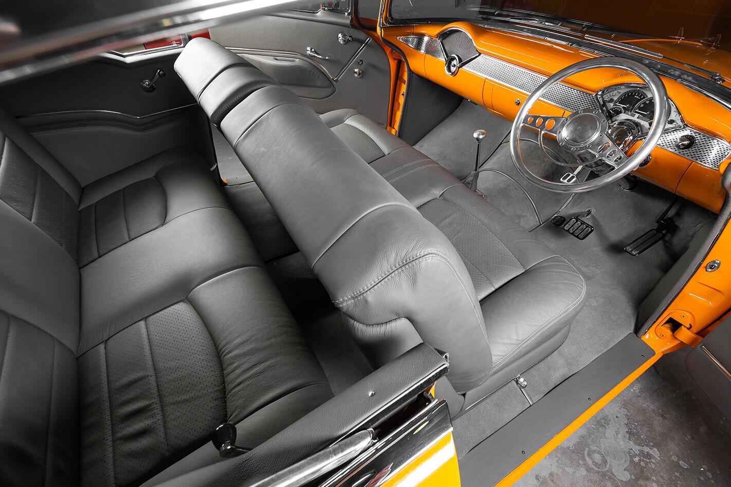 Chev Bel Air interior