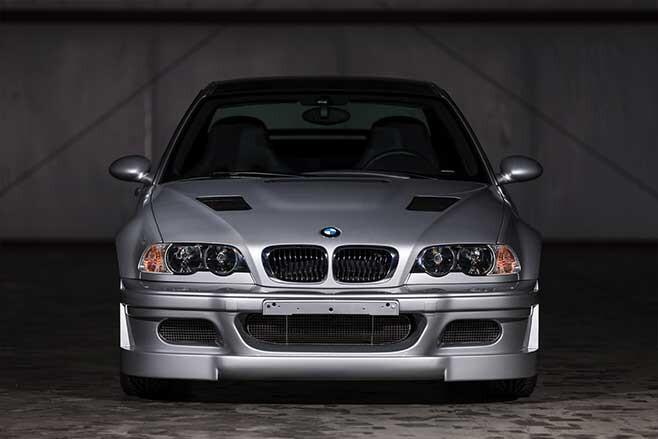 BMW E46 M3 GTR front