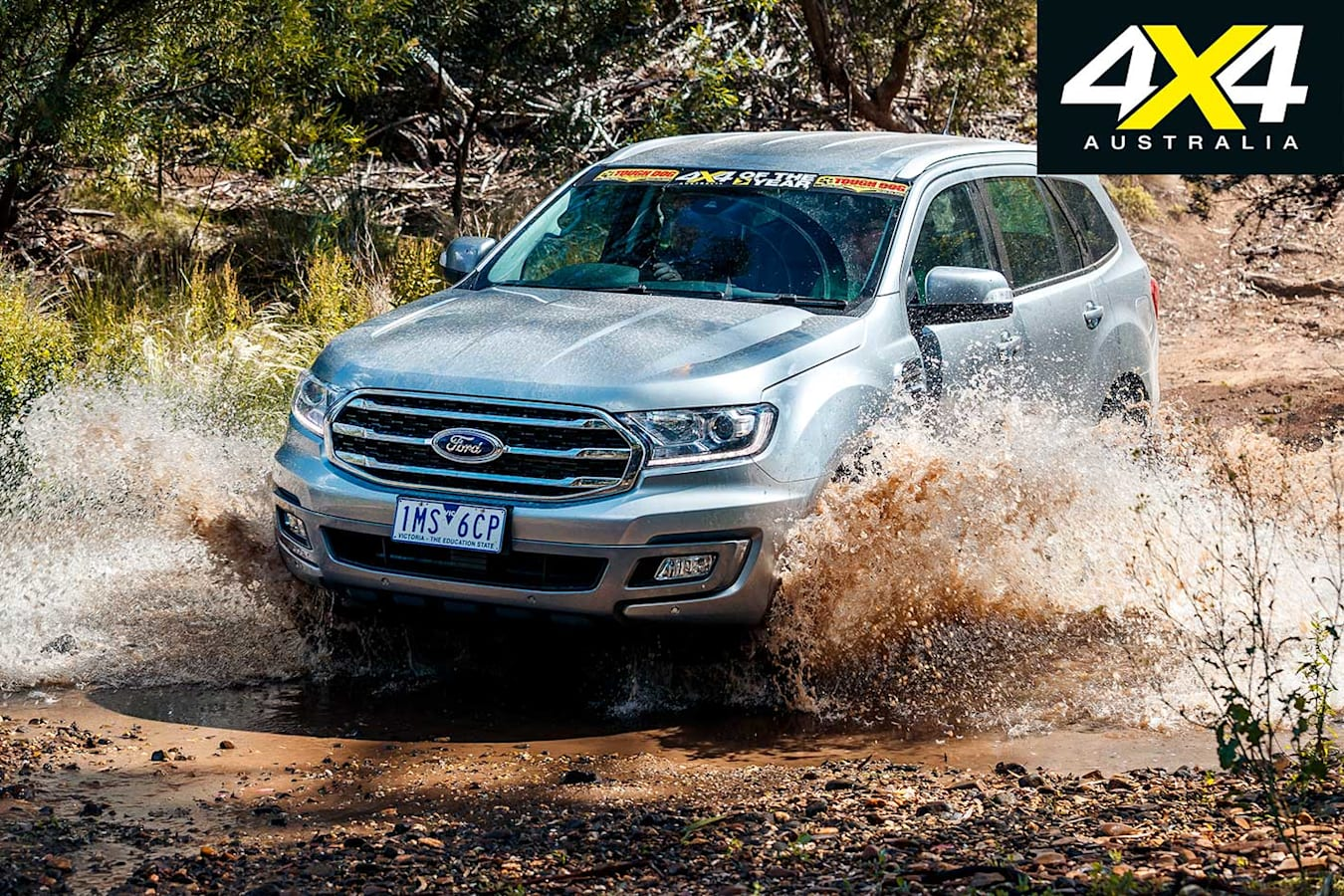 2019 4 X 4 Of The Year Ford Everest Trend Water Crossing Jpg