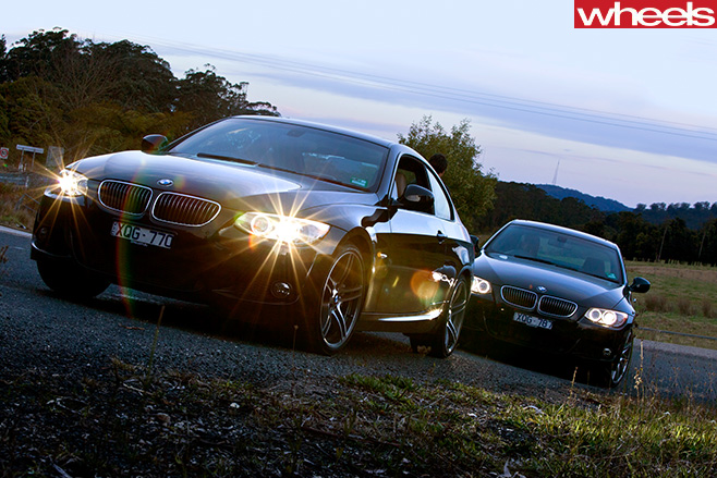 BMW-330d -vs -335i -driving