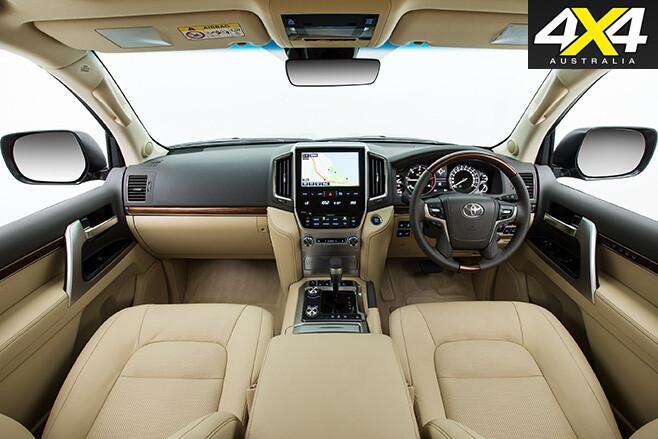 Land Cruiser 200 Series interior