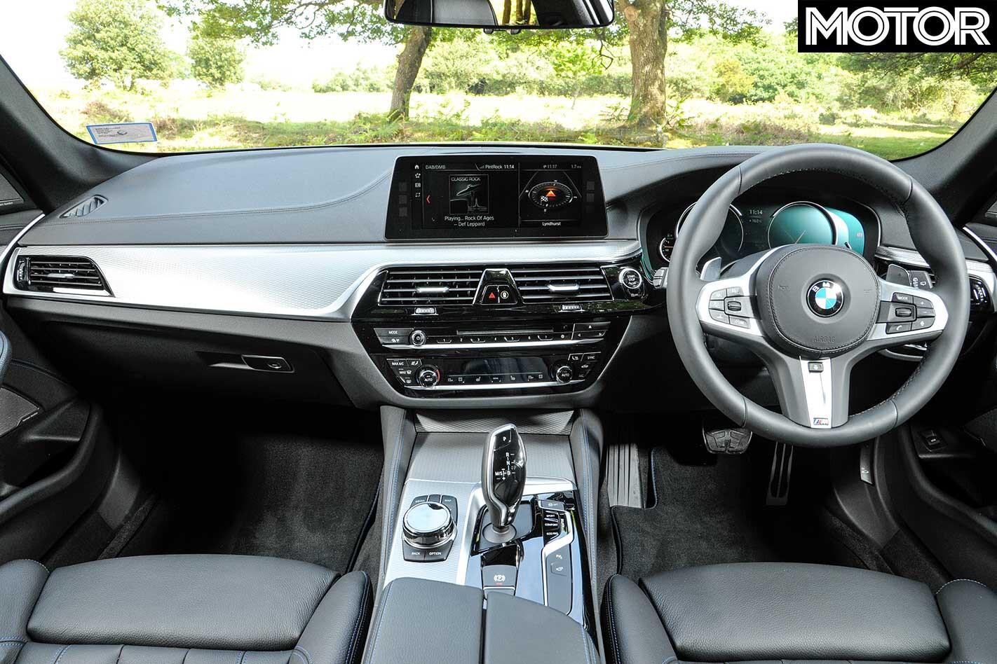 2018 BMW 530 I Touring Interior Jpg