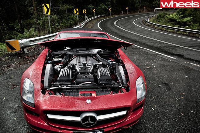 Mercedes -Benz -SLS-Cup -6-3L-engine