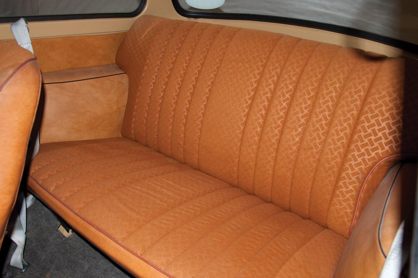 1964 Trabant 601 Back Seat Jpg