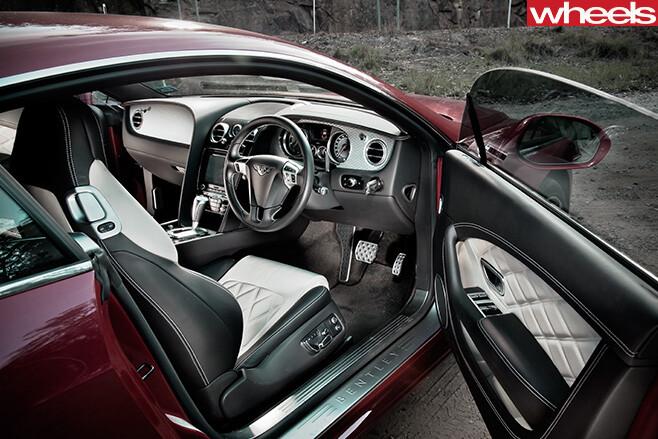 2013-Bentley -Continental -GT-interior