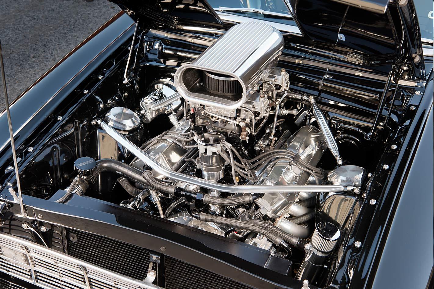 Ford Falcon XK ute engine bay