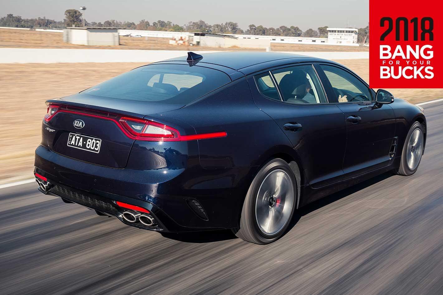 2018 Kia Stinger 330S track review