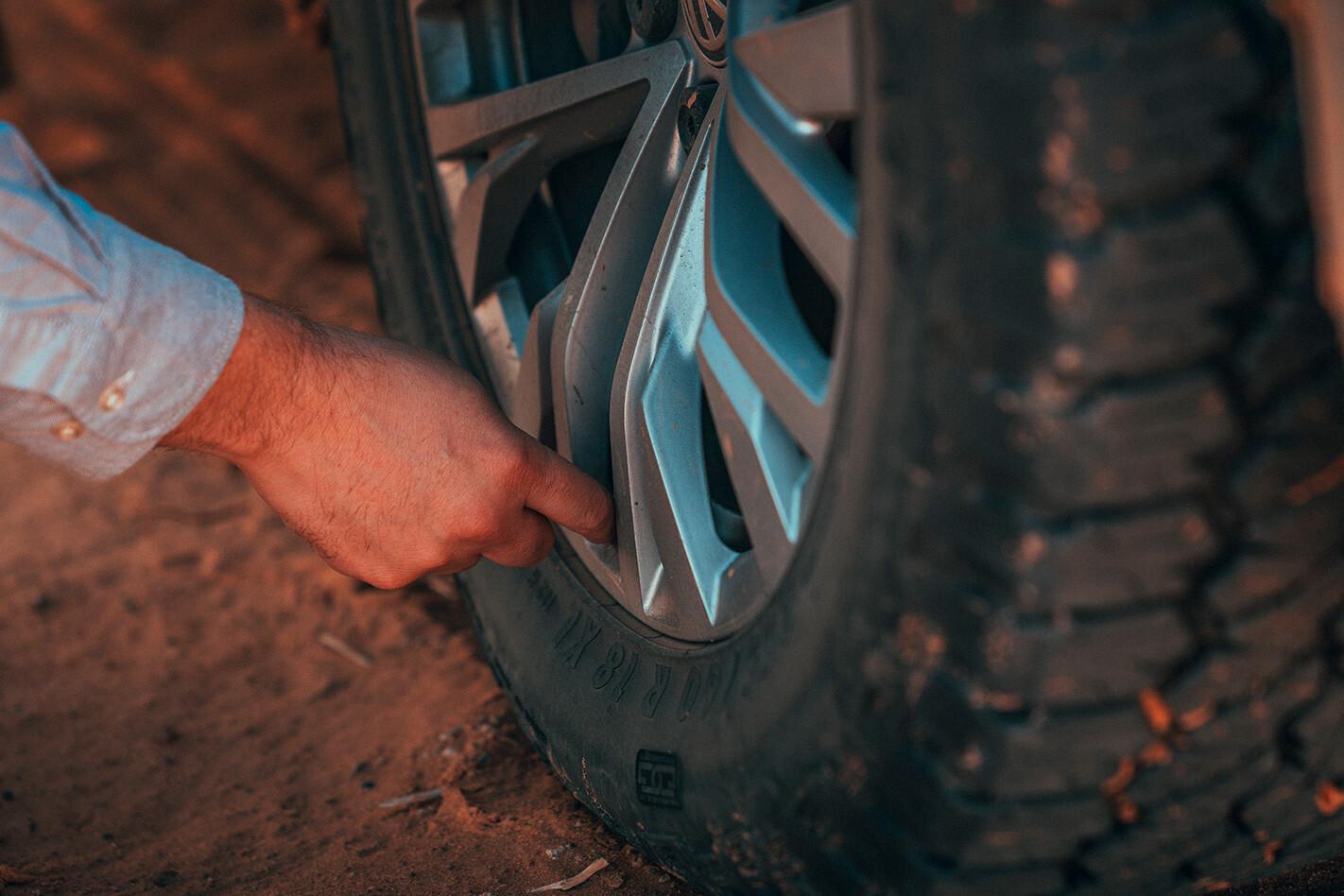 Volkswagen Touareg Tyre Jpg