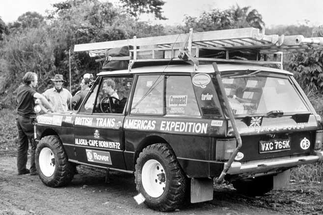 Range Rover British Trans-America Expedition