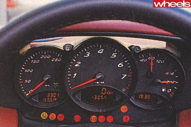 1996-Porsche -Boxster -986-convertible -rear