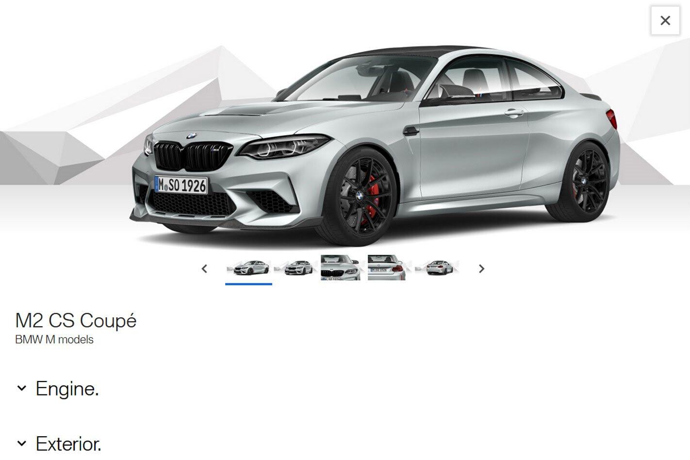 2020 BMW M 2 CS Configurator Whichcar 1 Jpg