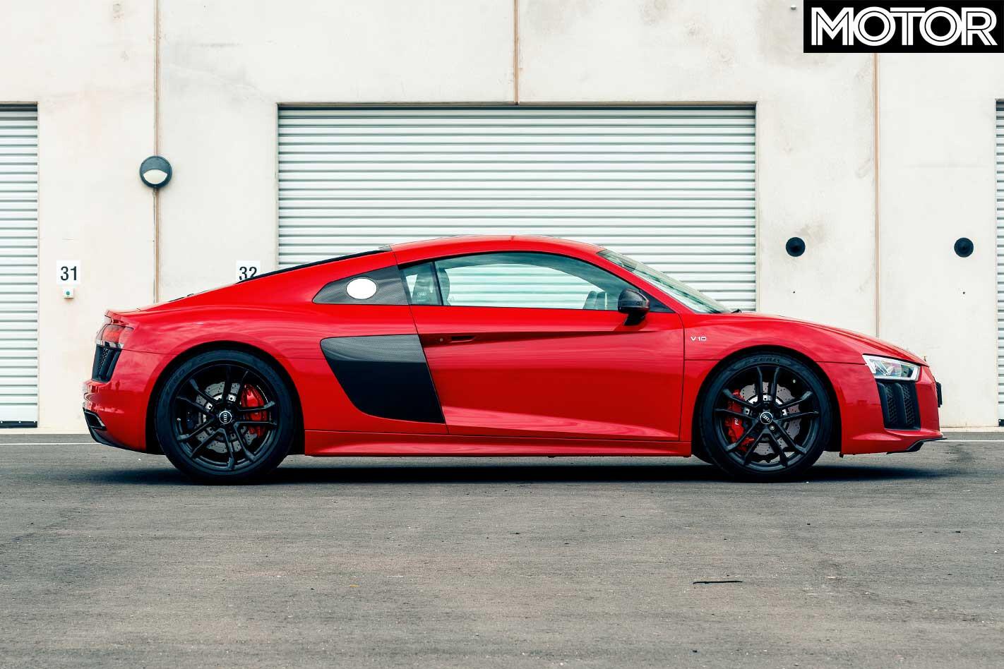 Audi R 8 RWS Side Profile Jpg