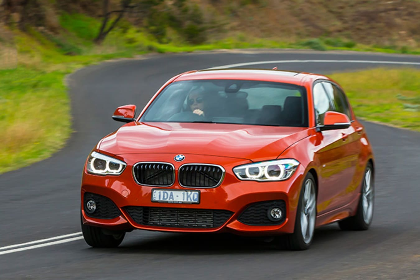 BMW 125i Driving Front