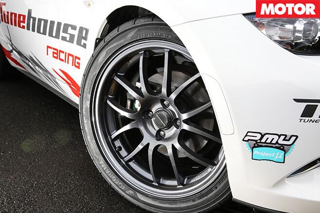 Tunehouse Mazda MX-5 ND wheels