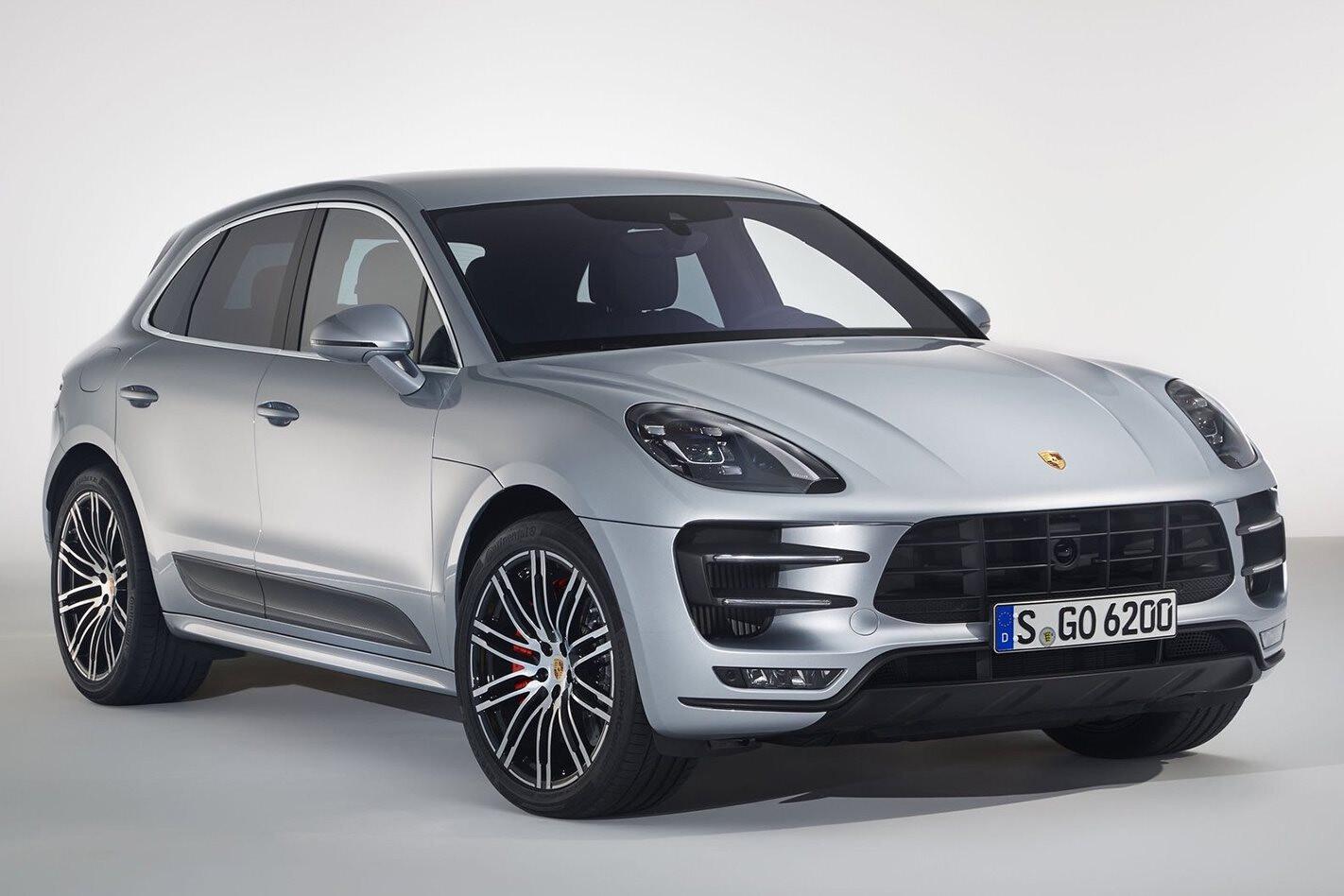 Porsche Macan Turbo powers up