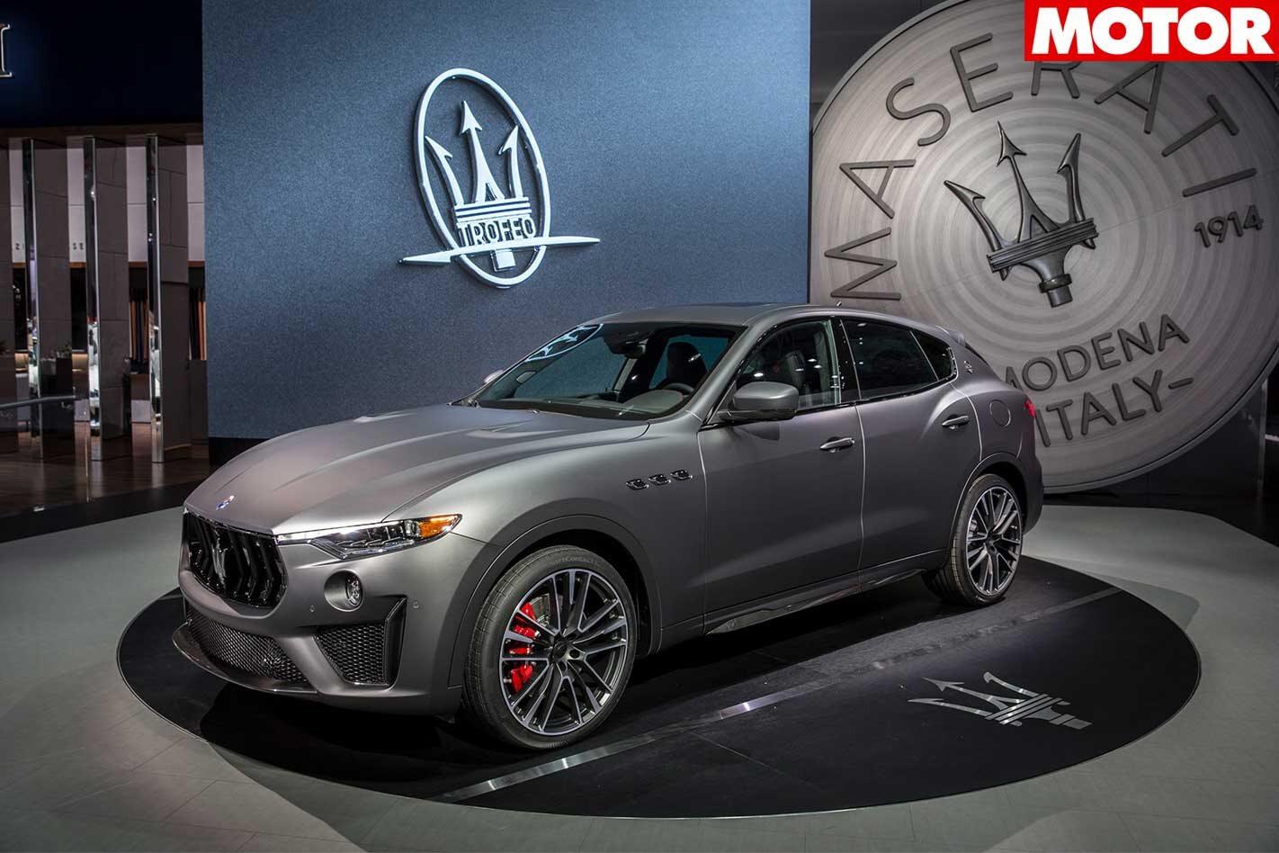 New York 2018 Maserati Levante Trofeo revealed