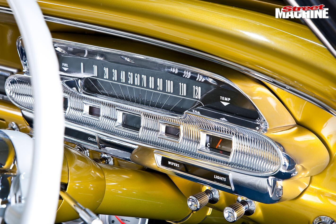 Ford Falcon XP dash