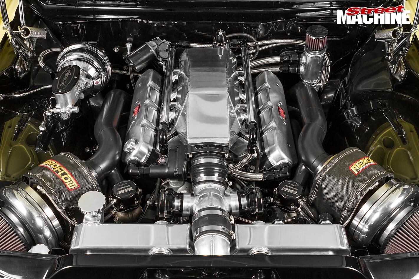 Holden -hk -monaro -engine -bay