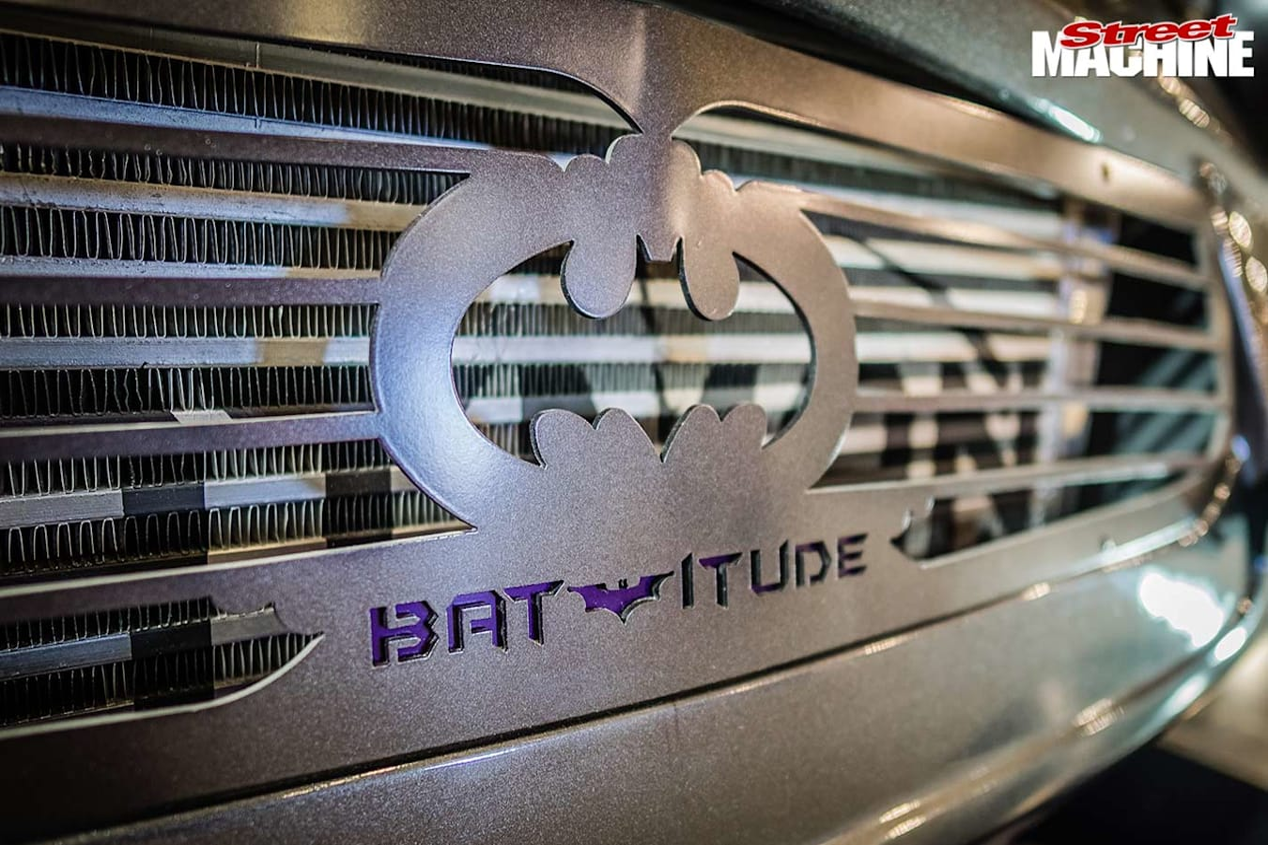 Batmobile grille