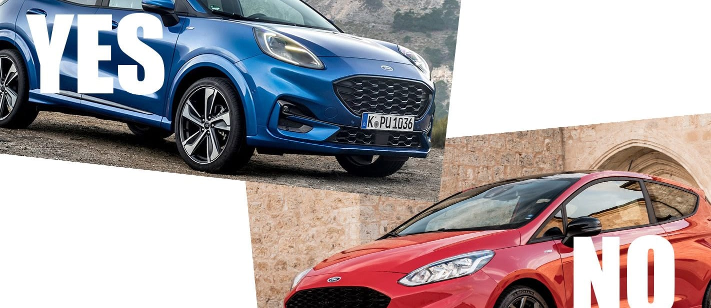 Ford Puma and Ford Fiesta