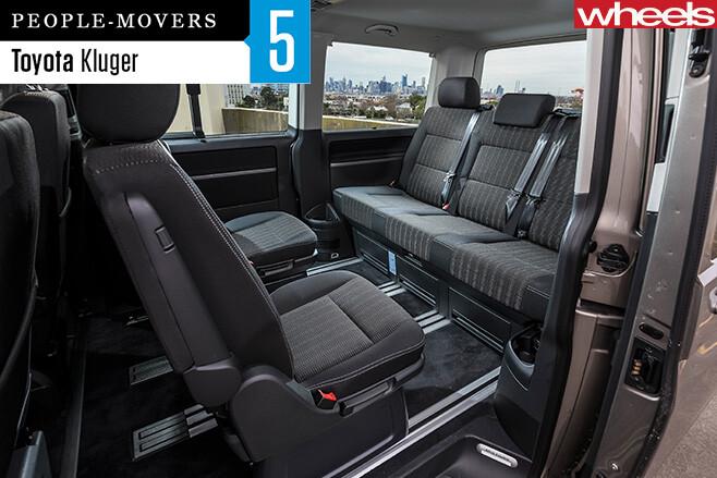 Volkswagen -Multivan -seats