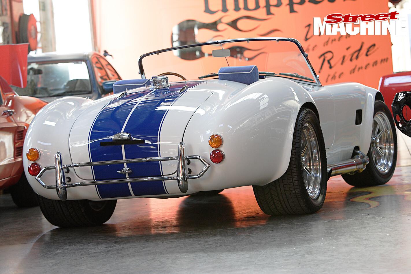 Michael -Schumacher -Cobra -Replica -rear