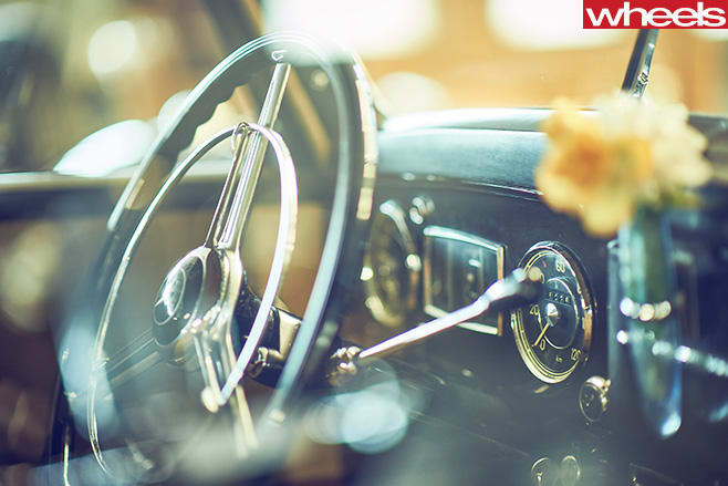 Mercedes -Benz -Classic -Car -steering -wheel