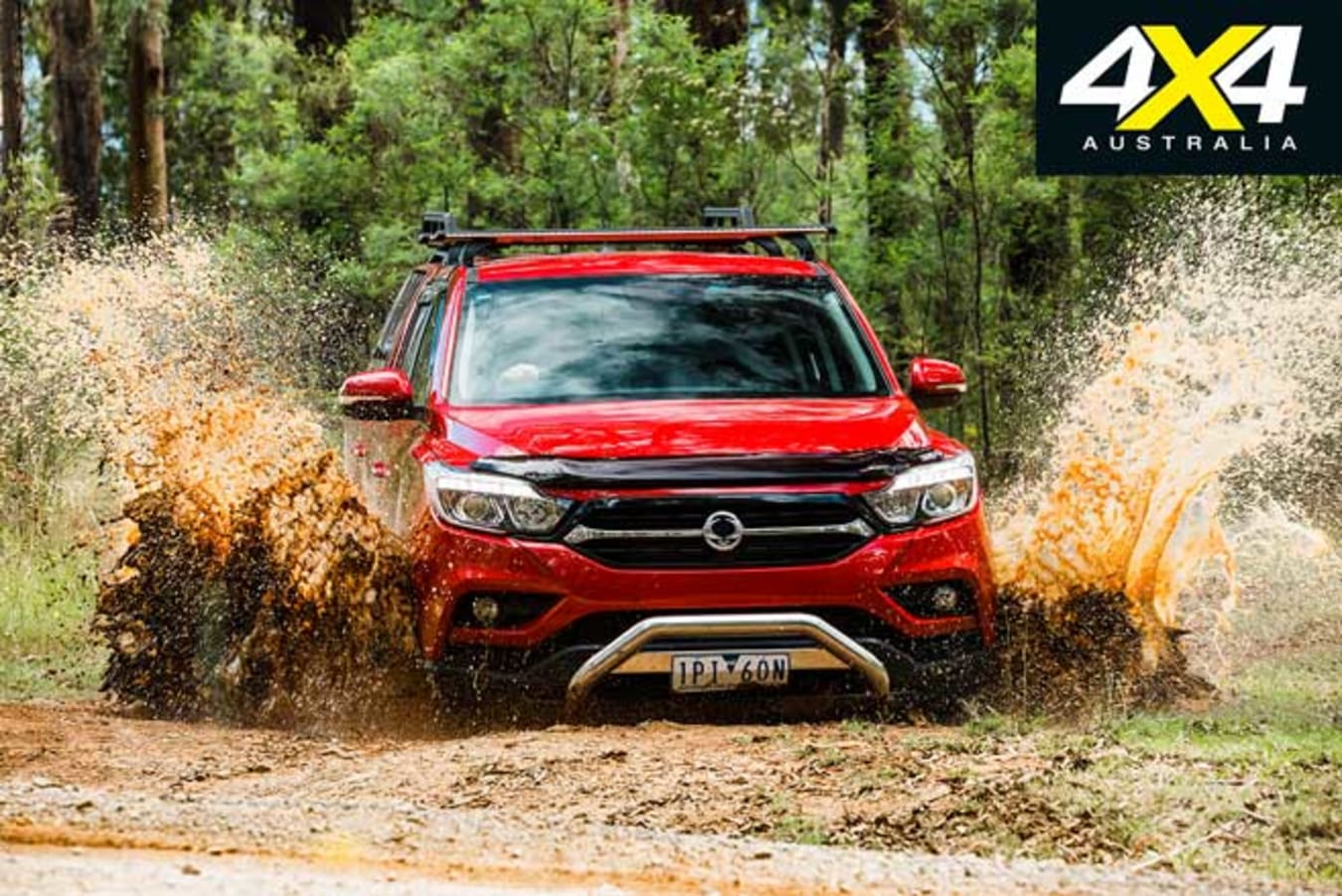 Ssangyong Musso XLV Off Road Review Jpg