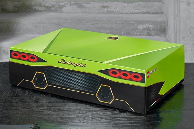 Lego Technic Lamborghini Sian box