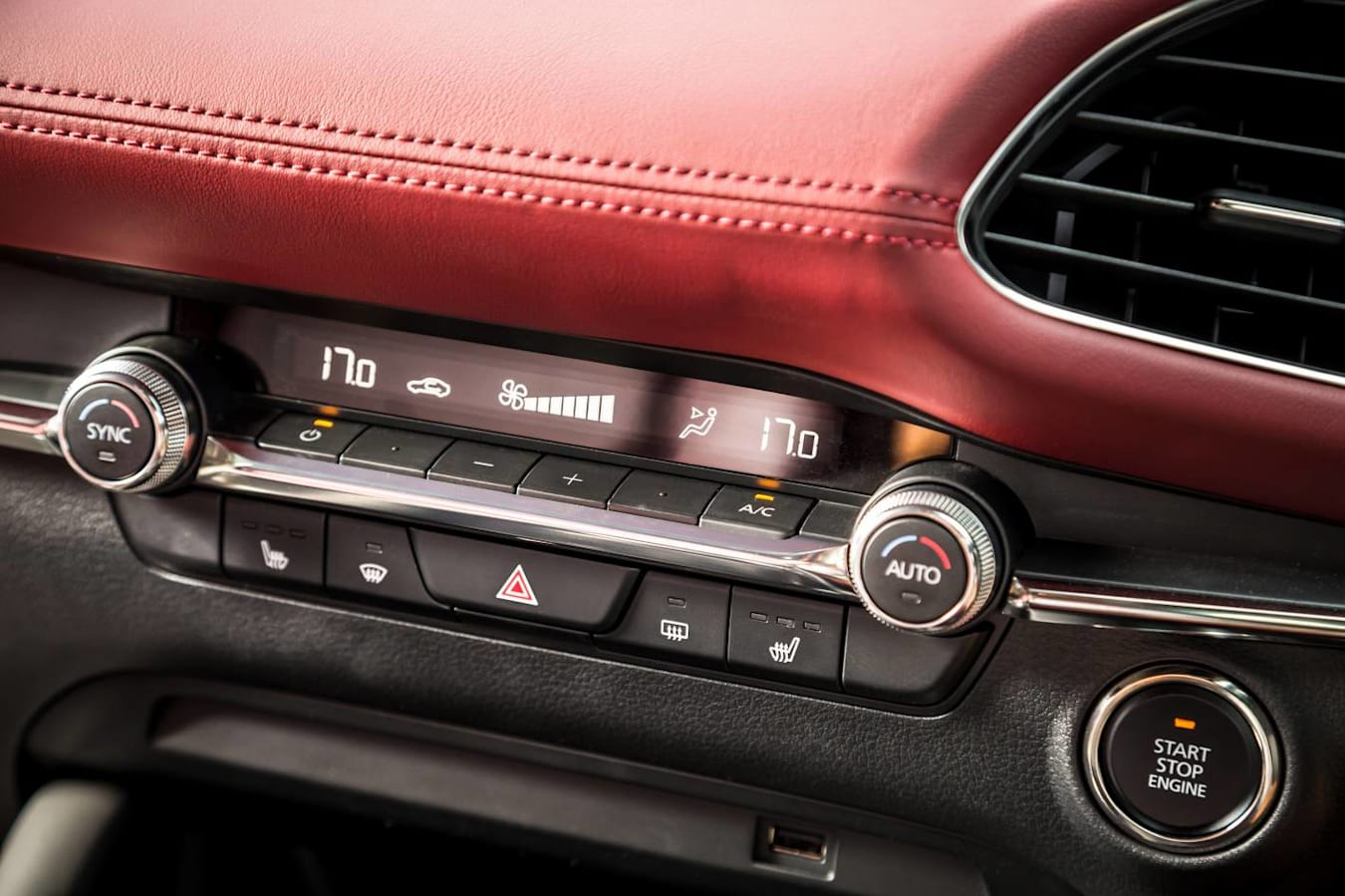 2019 Mazda 3 Astina Interior Hvac Detail Jpg