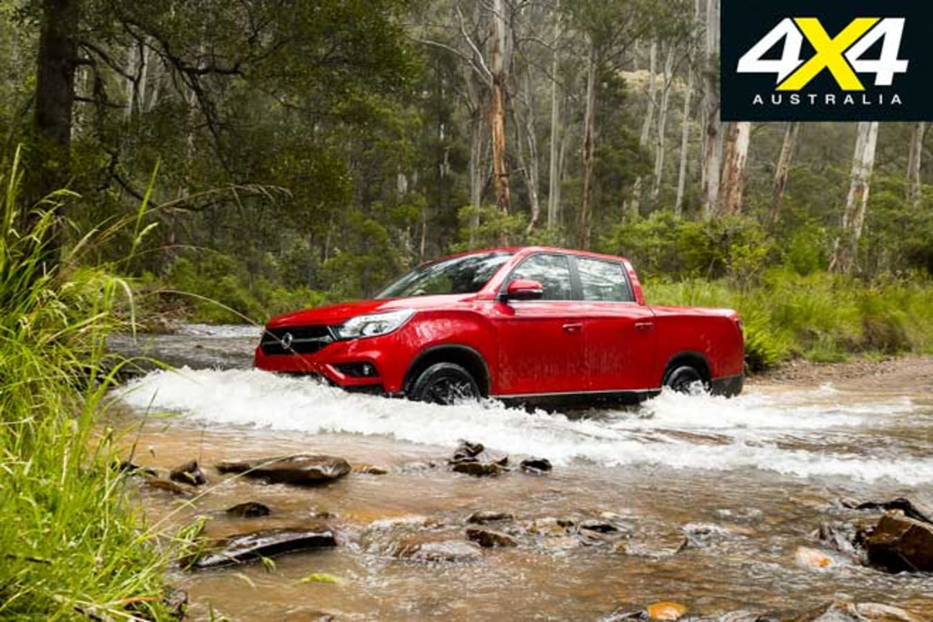 2020 4 X 4 Of The Year Ssangyong Musso XLV Ultimate Water Wading Jpg