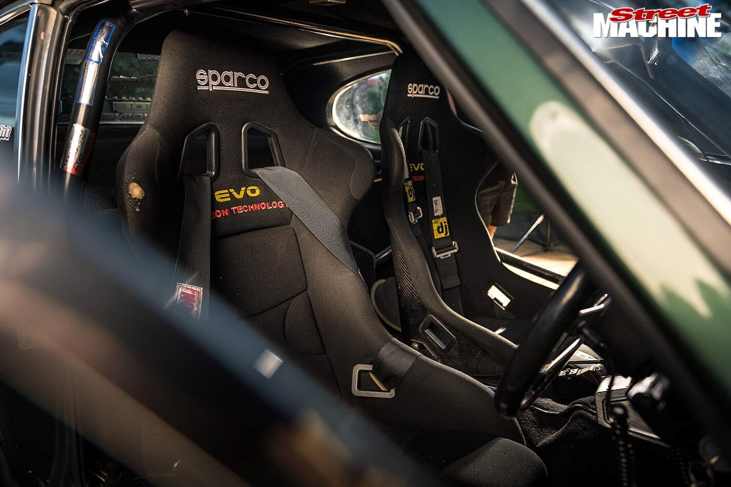 Alon Vella's Ford Capri interior